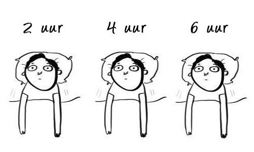 Afbeeldingsresultaat voor moeilijk slapen